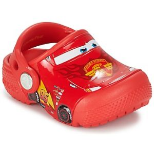 Crocs Fun Lab Cars Clog Kids, Garçon Sabots, Rouge (Flame), 33-34 EU