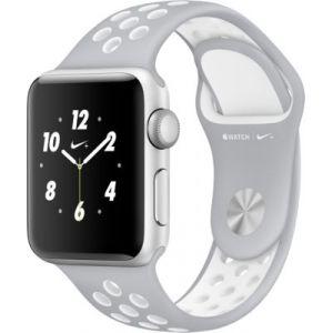 Apple Watch Nike+ 38mm - Montre connectée Boîtier alu avec Bracelet Sport Nike