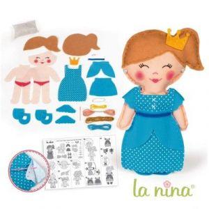 La nina Kit créatif Poupée à coudre Ely 31 cm