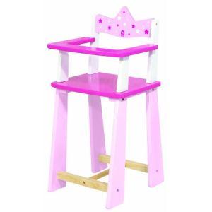 House of Toys Chaise haute pour poupon Princesse