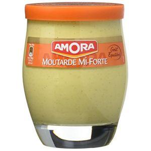 Amora moutarde mi-forte 230 g