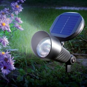 Sunny Trend Spot solaire aluminium 3 LED