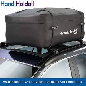 HandiWorld HandiHoldall 400 Litres - Coffre de toit souple - Pliable - Etanche - Noir