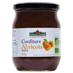 Côteaux nantais Confiture abricots extra Bio 690g