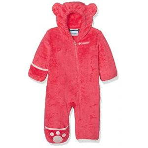 Columbia Foxy II Bunting Veste Mixte Enfant, Punch Pink, FR : S (Taille Fabricant : 3/6)