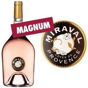 Miraval - AOC Côtes de Provence rosé - 2017 - 3 magnums de 1,5L