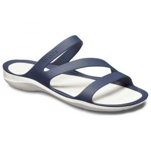 Crocs Tongs Swiftwater Sandal - Navy / White - EU 34-35