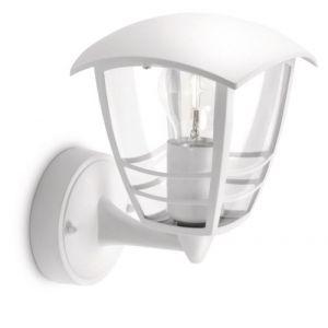 Philips 153803116 Creek Lanterne Murale Aluminium Blanc 60W