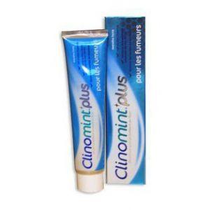 Laboratoires Gilbert Clinomint Plus - Dentifrice à la menthe forte spécial fumeur (75 ml)