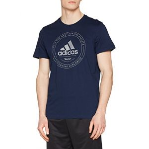Adidas CV4517 T-Shirt Homme, Collegiate Navy, FR : M (Taille Fabricant : M)