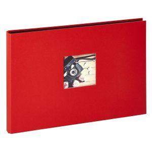 Panodia Album photos traditionnel Studio - 120 vues - 40 pages - Rouge