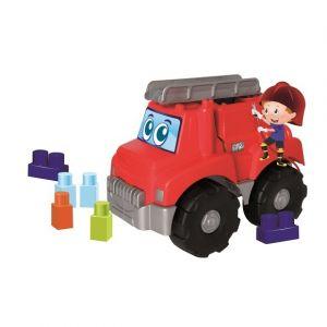 Ecoiffier Camion de pompier garni