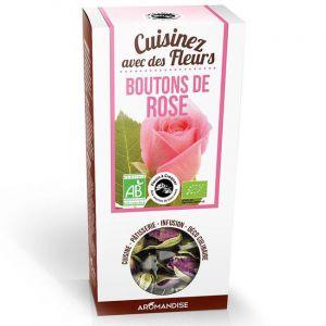 Florisens Fleurs à Croquer Bio Boutons de Rose 30g