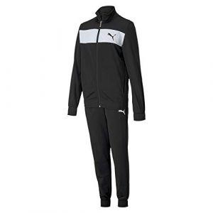 Puma Poly Suit cl B Survêtement Garçon, Black, FR Unique (Taille Fabricant : 110)
