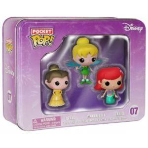 Funko Pack 3 figurines Pop! Disney Princesse : Belle, La Fée Clochette, Ariel