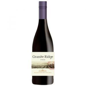 GRANITE RIDGE 2014 Syrah Vin d'Afrique du Sud - Rouge - 75 cl - Vin d'Afrique du Sud Granite Ridge Syrah 2014