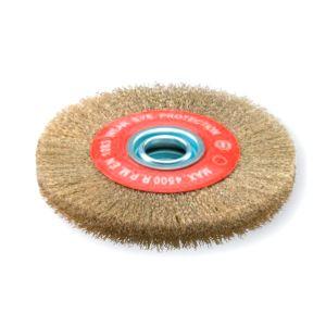 Sidamo Brosse circulaire pour tourets Dimension 200x25 avec bague de réduction d alésage