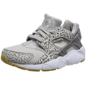 the best attitude 6cf09 78ee6 Nike Huarache Run Se GG, Chaussures de Gymnastique Fille Gris (Atmosphere  Grey Gun