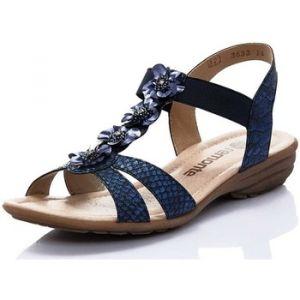 Remonte R3633-14 Femmes Sandales, Bleu 41 EU