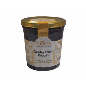 Thorem Confiture aux quatre fruits rouges pot 375gr