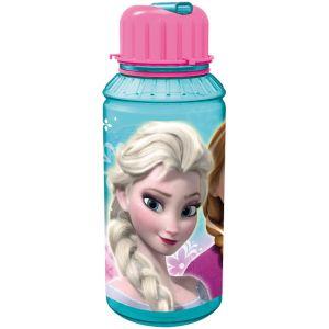 P:os GmbH Gourde avec paille intégrée Disney La Reine des Neiges 450 ml