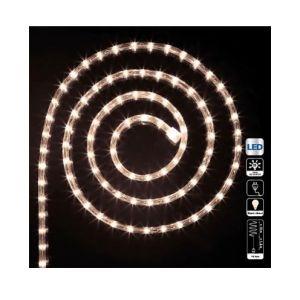 Tube l ineux guirlande à LED 6m Blanc chaud 8 fonctions AC DÉCO