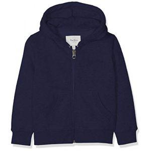 Pepe Jeans Sweatshirts Zip Thru Boys - Navy - 12 Années