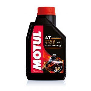 Motul 7100 4T 104089 Huile pour moto à moteur 4 temps 10W-30 1 l