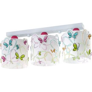 Dalber 62143 - Rampe 3 lampes Butterfly
