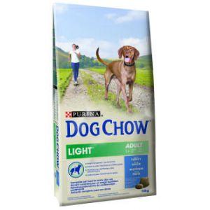 Dog chow Light Dinde et Riz - Sac 14 kg