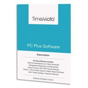 Safescan Logiciel TM PC Software + nombre d'utilisateurs illimité