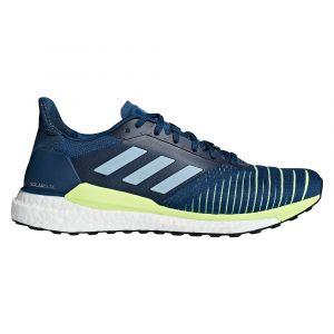 Adidas Chaussures de running Solar Glide Bleu / Jaune - Taille 44 y 2/3