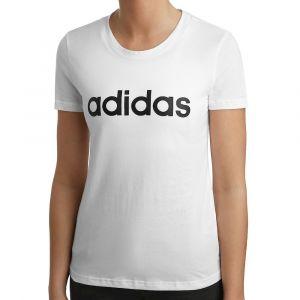 Adidas T-shirt Essentials Linear Slim Tee Women blanc - Taille EU S,EU M,EU L,EU XL,EU XS