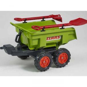 Falk Remorque Dumper Maxi Claas 4 roues avec accessoires