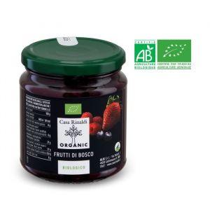 Casa Rinaldi Préparation à base de framboises, fraises et myrtilles bio - 330 g