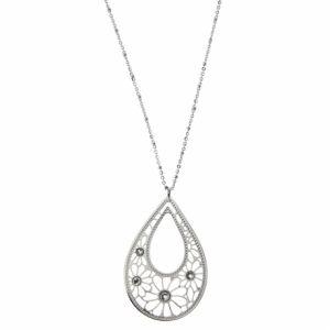 Lotus LS1663-1-1 - Collier argenté pour femme