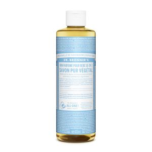 Dr bronner's Savon liquide non parfumé 473 ml