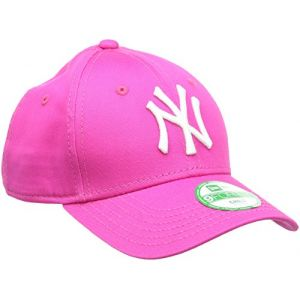 A New Era Casquette enfant Essential 9Forty New York Yankees - Rose/Blanc
