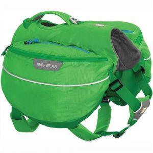 Ruffwear Sac de randonnée pour chien, Chien de grande à très grande taille, Taille ajustable, Taille: L/XL, Vert (Meadow Green), Approach Pack, 50102-345LL1