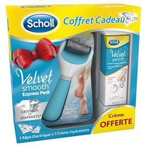 Scholl Coffret Velvet Smooth Express avec crème hydratante 60 ml