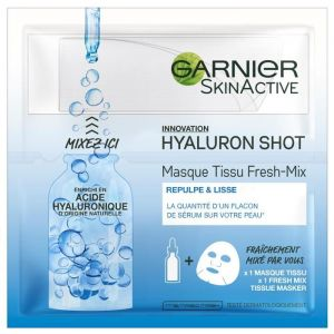 Garnier Skinactive Masque tissu Fresh-Mix Hyaluronique Shot 33 g