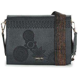 Image de Desigual Bag Dark Amber Imperia Women, Sacs bandoulière femme, Noir (Negro), 10x16x23 cm (B x H T)