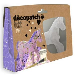 decopatch KIT010O - Boîte créative, mini kit Cheval