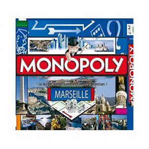 Winning Moves Monopoly Marseille 2014