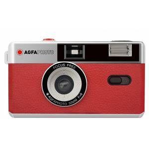 AgfaPhoto Appareil Photo Argentique Réutilisable 35mm Rouge