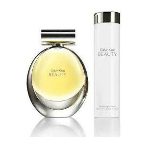 Calvin Klein Beauty - Coffret eau de parfum et lait pour le corps
