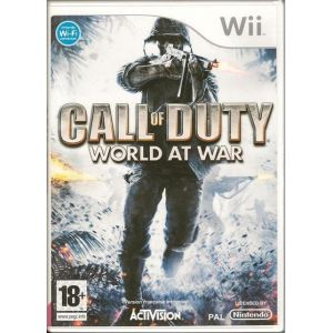 Call of Duty : World at War [Wii]