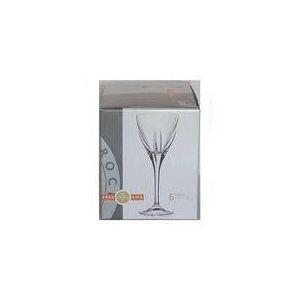 Cristal de paris 6 verres à pied pour eau Royal Fusion (25,3 cm)