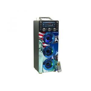 Inovalley Dance Cube 40 - Enceinte Bluetooth lumineuse Karaoke
