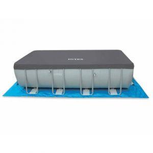 Intex Bâche de protection piscine tubulaire rectangle 9,75 x 4,88 m